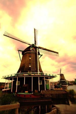 Zaanse Schans ภาพถ่าย