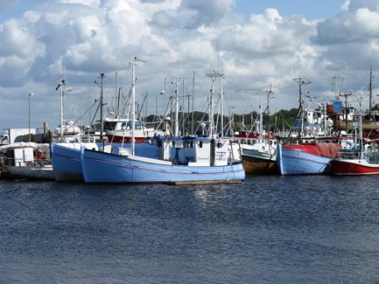 Gilleleje fishing harbour