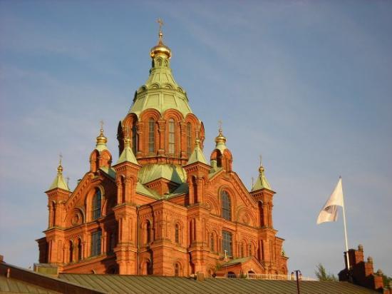 เฮลซิงกิ, ฟินแลนด์: An Orthodox Church