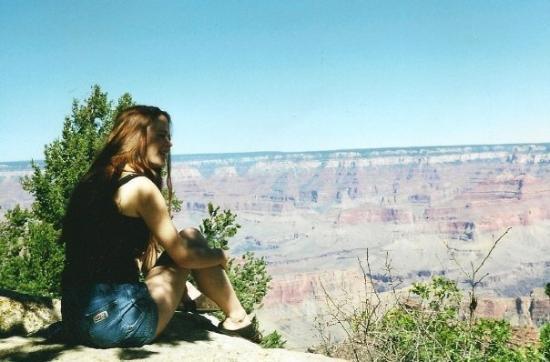 อุทยานแห่งชาติแกรนด์แคนยอน, อาริโซน่า: overlooking the grand canyon