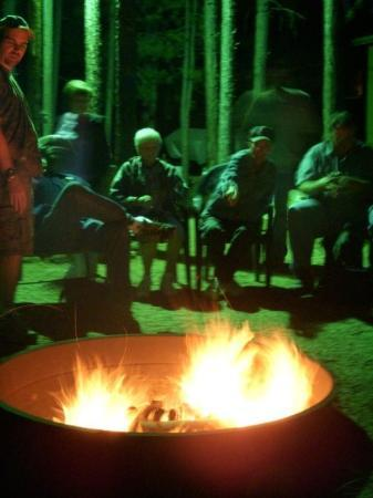 Forest Lakes, อาริโซน่า: Around the campfire
