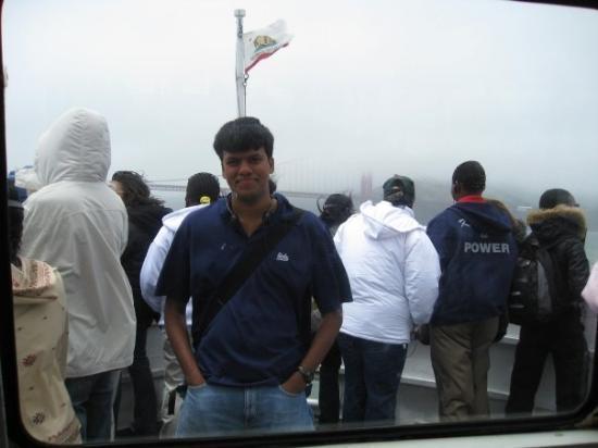 สะพานโกลเดนเกท: Onboard a cruise....