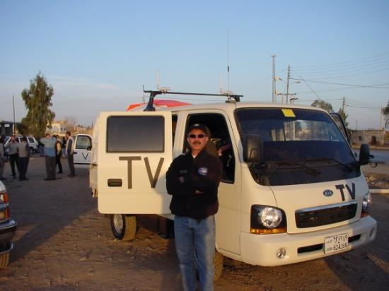 Have antenna will travel, Baghdad 2002