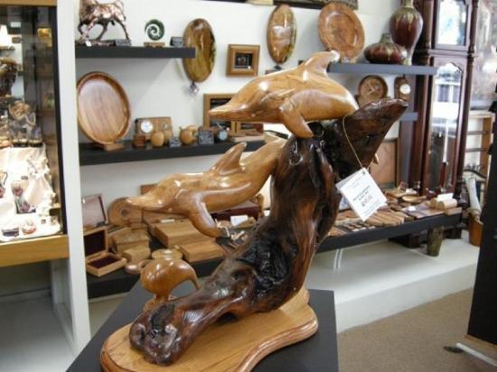 พิกตัน, นิวซีแลนด์: Picton, Woodworks shop/gallery