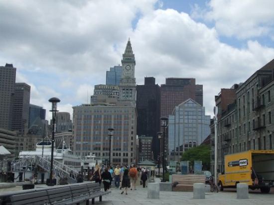 บอสตัน, แมสซาชูเซตส์: View from Warf