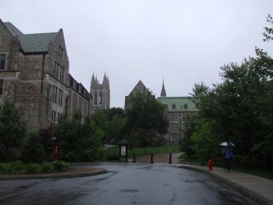 บอสตัน, แมสซาชูเซตส์: Wet and still Beautiful