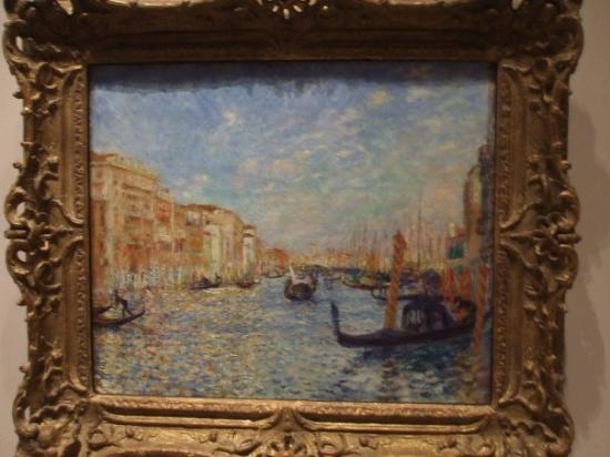 บอสตัน, แมสซาชูเซตส์: and this was Renoir in Venice