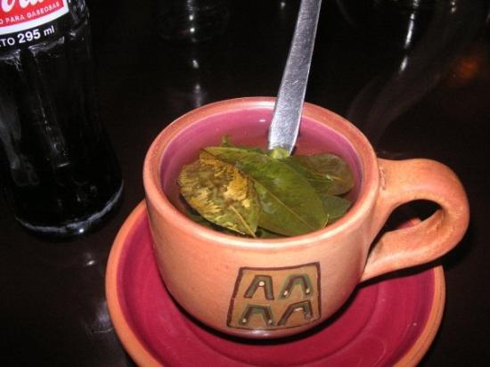 กุสโก, เปรู: Coco tea anyone? come on its made with the same leaves as cocaine!