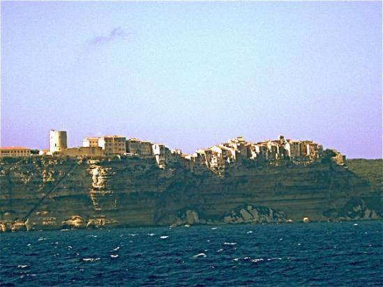 bonifacio's haute ville, corsica