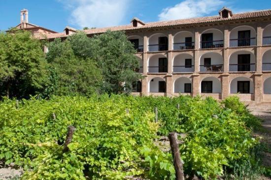 Hotel Monasterio de Piedra & Spa: Terrazas