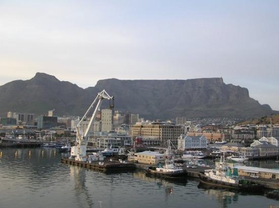 ใจกลางเมืองเคปทาวน์, แอฟริกาใต้: Table Mountain, Cape Town, South Africa