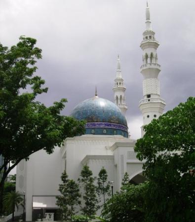 กัวลาลัมเปอร์, มาเลเซีย: Big Mosque in KL.
