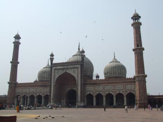 นิวเดลี, อินเดีย: Jasma Masjid, la plus grande mosquee de l'inde
