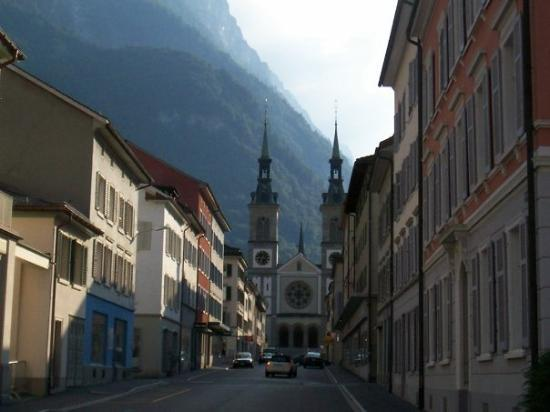 The city of Glarus.