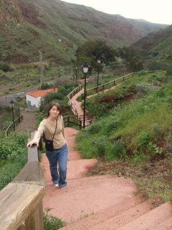 ลัสปัลมัส เดอ กรัง คานาเรีย, สเปน: trappor på berget - smart!