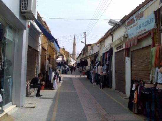 นิโคเซีย, ไซปรัส: North Nicosia -Old City Street