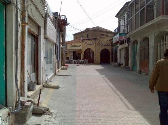 นิโคเซีย, ไซปรัส: North Nicosia - OldCity empty street