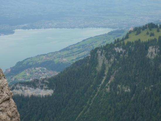 ทัน, สวิตเซอร์แลนด์: Aussicht vom Niederhorn, hier der Thunersee