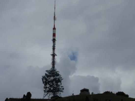 ทัน, สวิตเซอร์แลนด์: Gipfelantenne auf dem Niederhorn