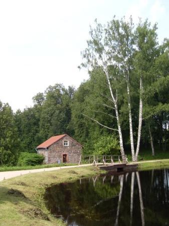 Pskov, รัสเซีย: Barn in Mikhailovskoye (home estate of Pushkin)
