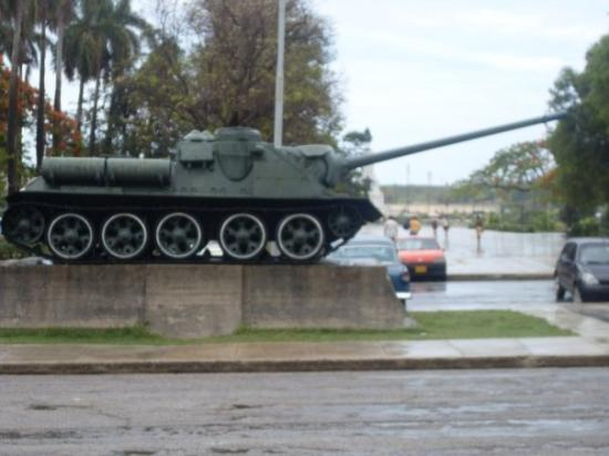 คิวบา: The tank used to invade the bay of pigs