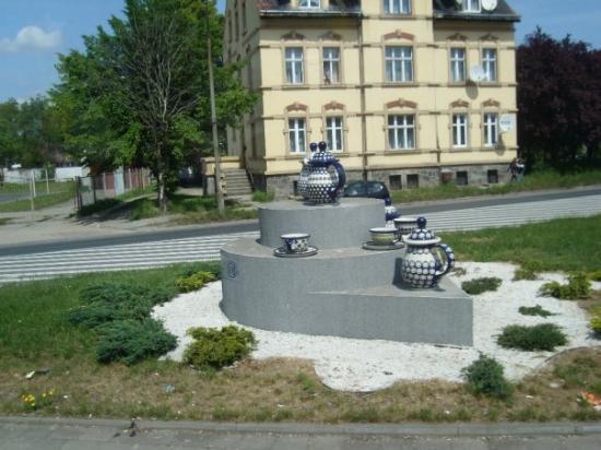 โบเลสลาวิก, โปแลนด์: Bolaslawiec. Polish pottery land. A very small operation really.