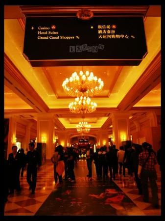มาเก๊า, จีน: In the Venetian Macau Resort Hotel
