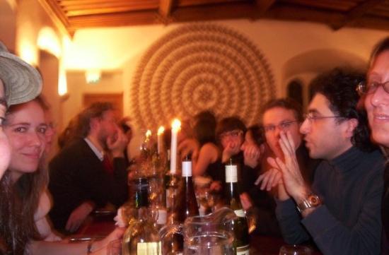 เคมบริดจ์, UK: Another dinner no so formal at Jesus Collage
