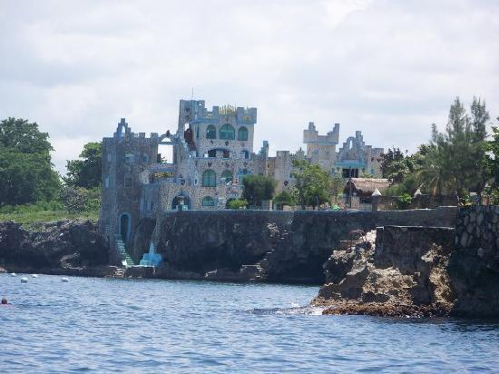 Blue Cave Castle: from Famous Vincent's boat