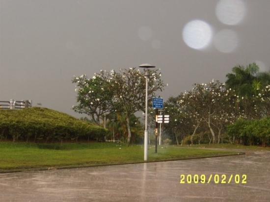 กัวลาลัมเปอร์, มาเลเซีย: A rainy day on Bukit Jalil
