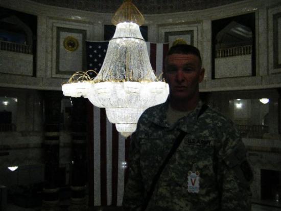 Baghdad, อิรัก: 3rd floor where the president was