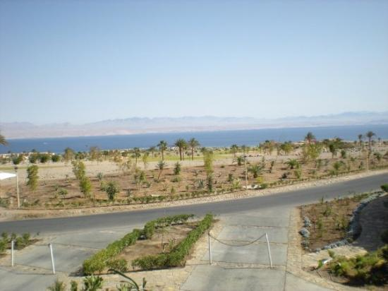 ตาบา, อียิปต์: the view from our hotel, across the water is Saudi Arabia