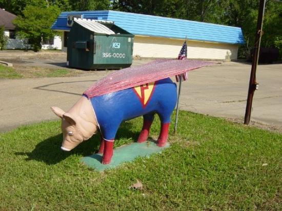 Winnfield, LA: Super Pig