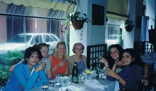 ปอร์โตฟิโน, อิตาลี: crew portofino restaurant