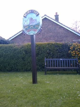 Moreton-in-Marsh, UK: part of my bike ride 27.4