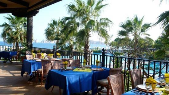 """Hotel Riu Santa Fe: : view from El Torote. It was one of the four """"specialty"""" restaurants at the hotel."""