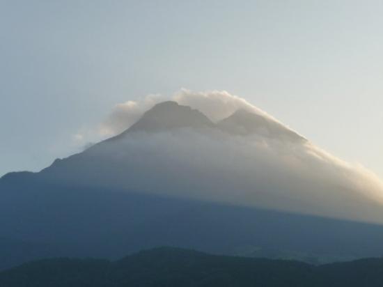 ยุฟุ, ญี่ปุ่น: Took a picture in the morning.