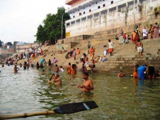 พาราณสี, อินเดีย: O rio Ganges - Varanasi