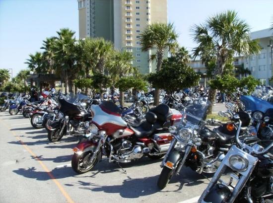 ปานามาซิตี้บีช, ฟลอริด้า: Harley's Thunder on the Beach Fall Rally