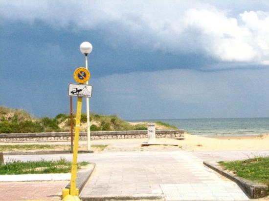 En chemin vers la plage de Laredo