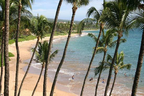 Mana Kai Maui: View from the 4th floor balcony