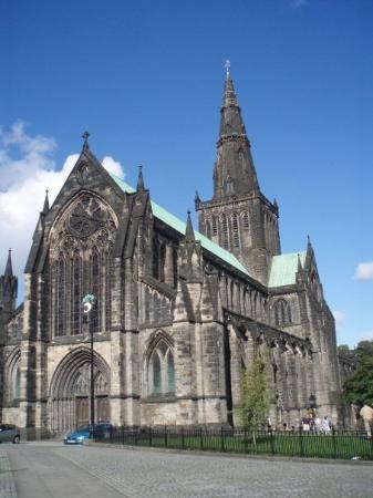 Glasgow Cathedral: The cathedral in Glasgow