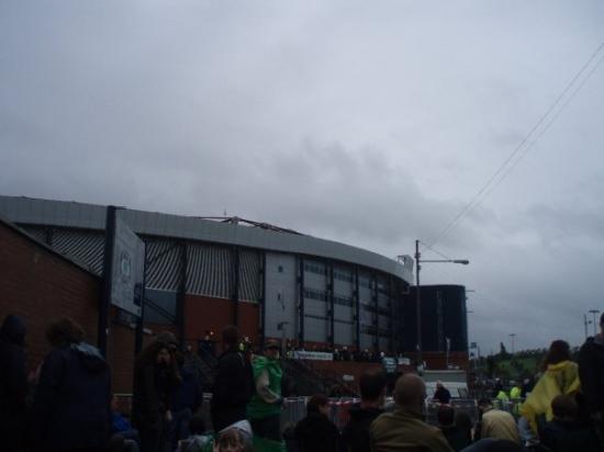 กลาสโกว์, UK: The stadium