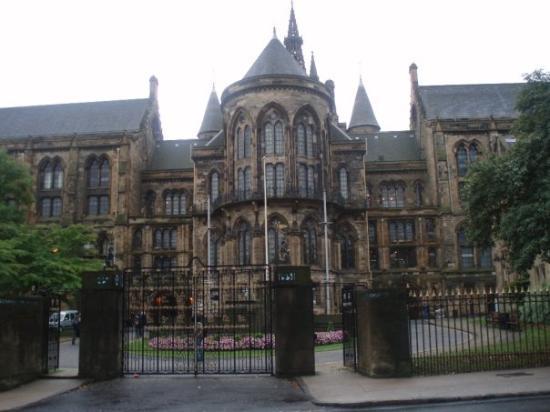 กลาสโกว์, UK: The Glasgow University