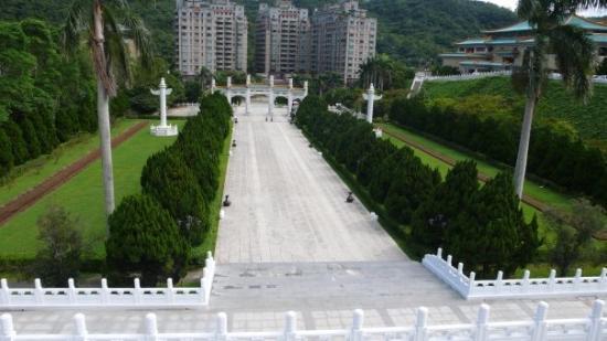 พิพิธภัณฑ์พระราชวังแห่งชาติ: : view from the National Museum