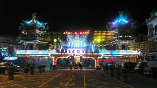 ไทเป, ไต้หวัน: : temple in Jin Shan