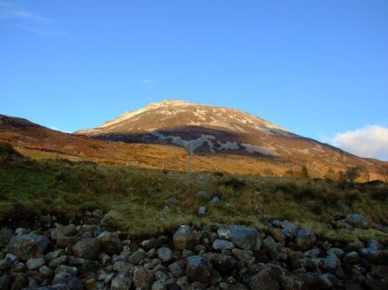 Dunlewey, ไอร์แลนด์: Erigal Mountain, Dunlewy