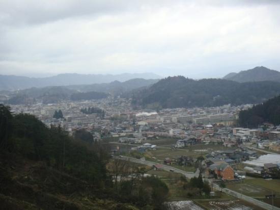 โฮเต็ลแอซโซเซีย ทาคายาม่า รีสอร์ท: Utsikt från vårt hotellrum