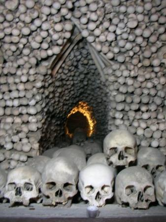 Ossuary / The Cemetery Church: (Kutna Hora)
