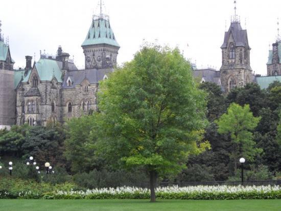 ออตตาวา, แคนาดา: View of the Canada Parliment buildings